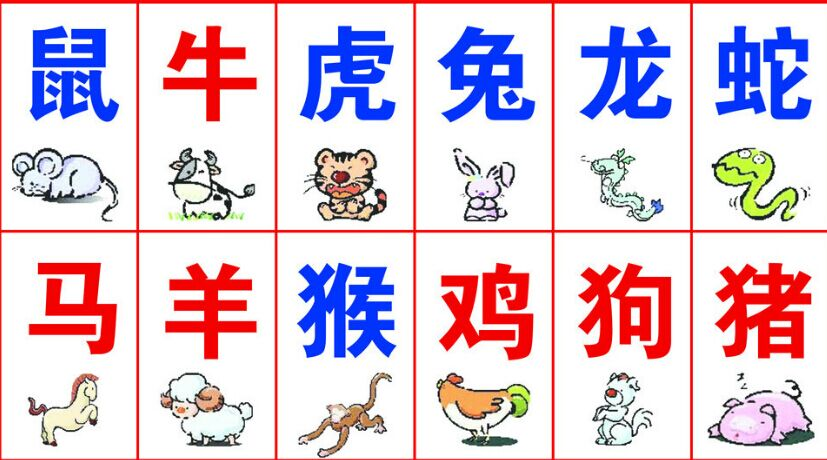 Chinese zodiac yunnan adventure travel for Astrological signs in order