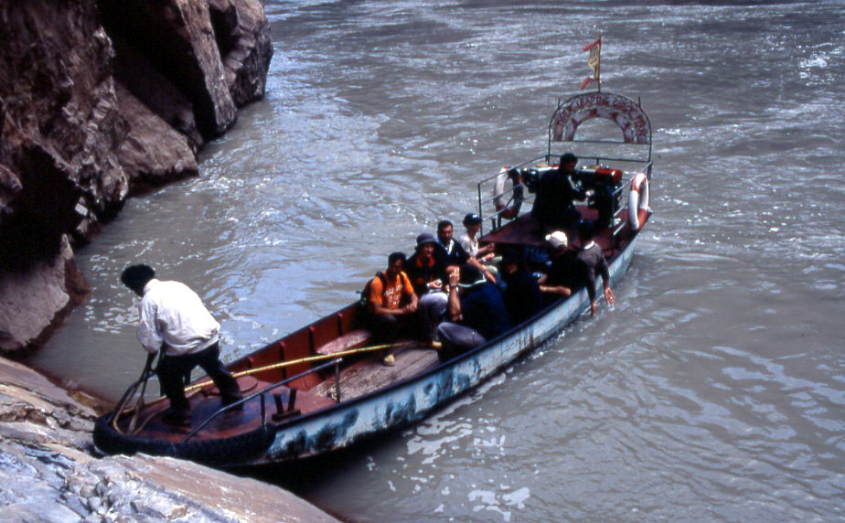 Daju Ferry of Tiger Leaping Gorge