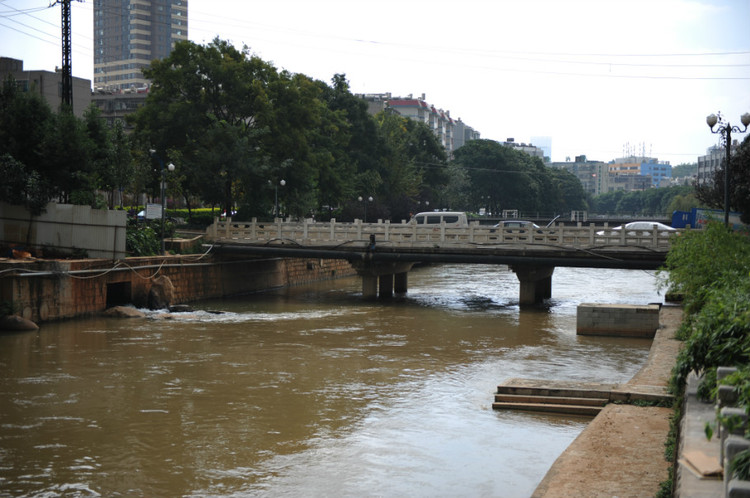 Panlong River in Kunming