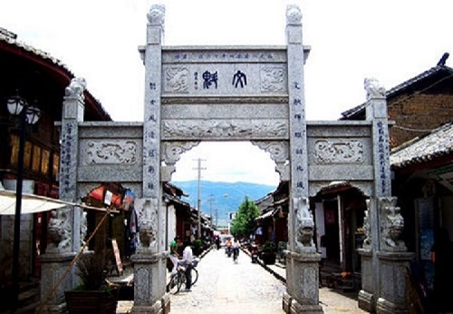 Jinhua Old Town in Jianchuan County