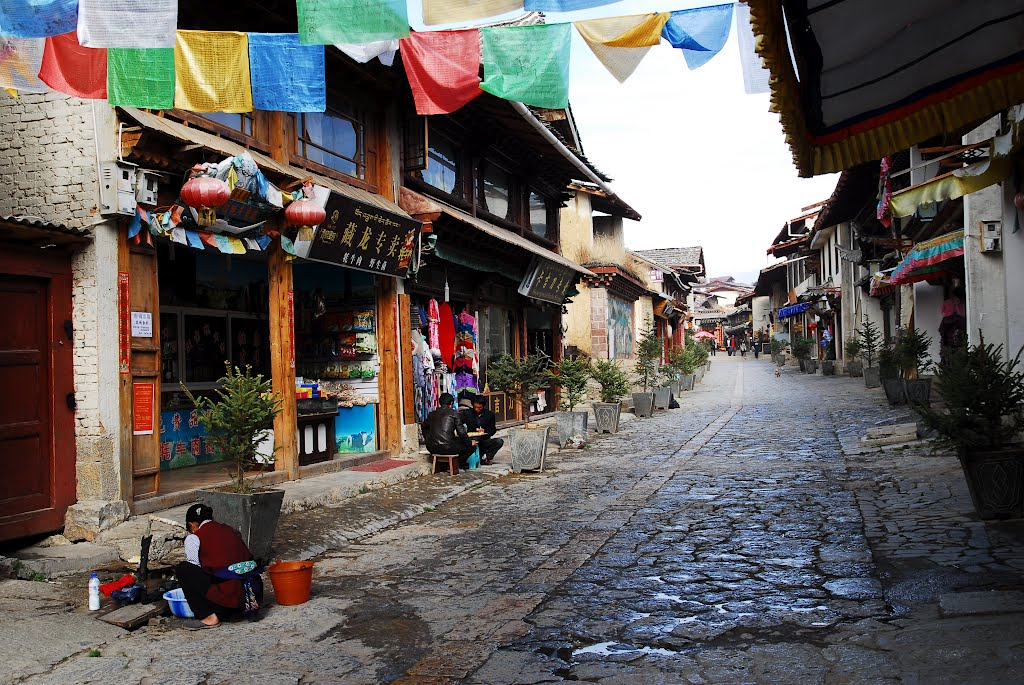 Dukezong Ancient Town in Shangri-la