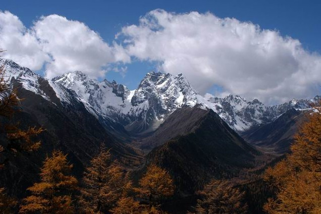 Baimang Snow Mountain Nature Reserve in Diqing