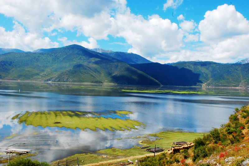 Napahai Lake in Shangri-la