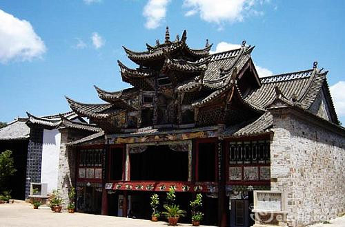 The Histotical Cultural Town in Huize,Qujing