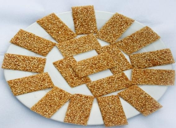 Sesame slices